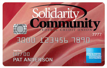 Credit Cards Solidarity Community Federal Credit Union