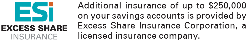 Excessive Share Insurance with Solidarity Credit Union