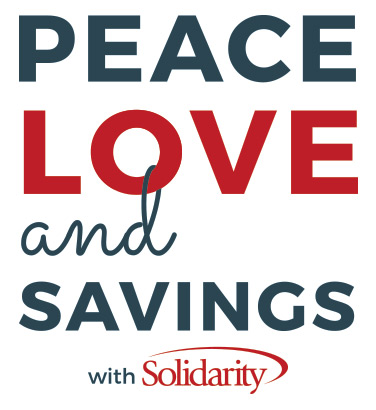 Peace Love and Savings