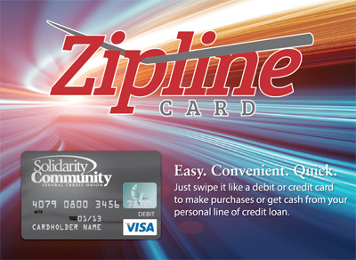 Solidarity's Zipline Card