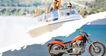 Boats, RV and Motorcycle Financing