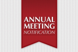 Annual Meeting Notification