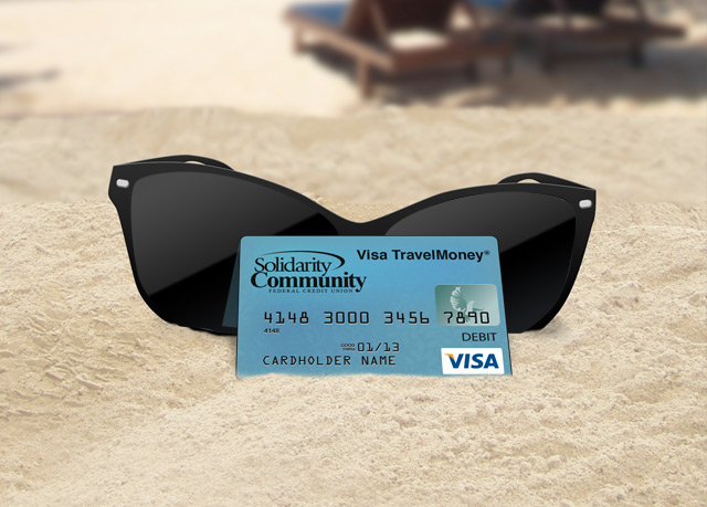 Purchase a pre-paid, reloadable TravelMoney® Card for Spring Break!